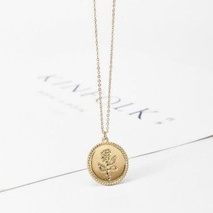 Urban Outfitters Jewelry - Rose Pendant Necklace